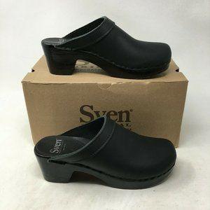 Sven Original Clog Mule Block Heels Comfort Sandal